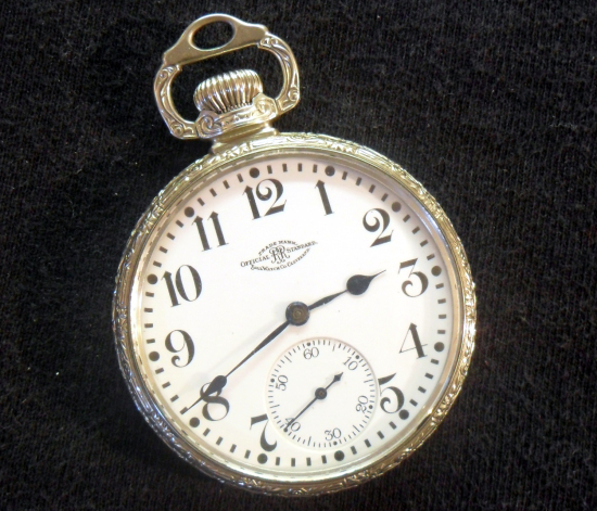 BALL LS SW ADJ. 16S 21J POCKET WATCH