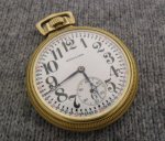 Click to display Hamilton 992 16s 21j 10K Gold Filled Pocket Watch Info