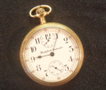 Click to display ROCKFORD 16S 17J SW ADJ POCKET WATCH Info