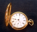 Click to display UNSIGNED REPEATER POCKET WATCH Info