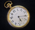 Click to display E. HOWARD OF LS SW 21J POCKET WATCH Info