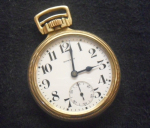 Click to display E. HOWARD LS SW 16S 21J RR CHRONOMETER Info